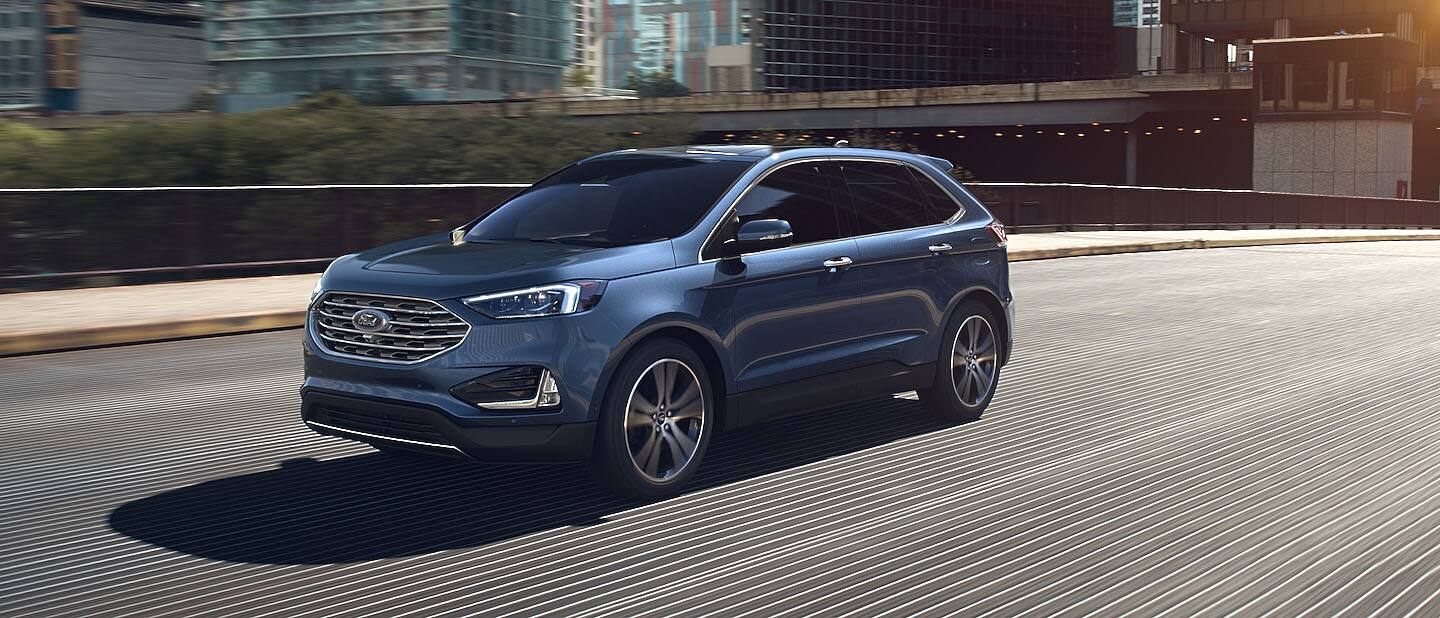 2020 Ford Edge Atlas Blue