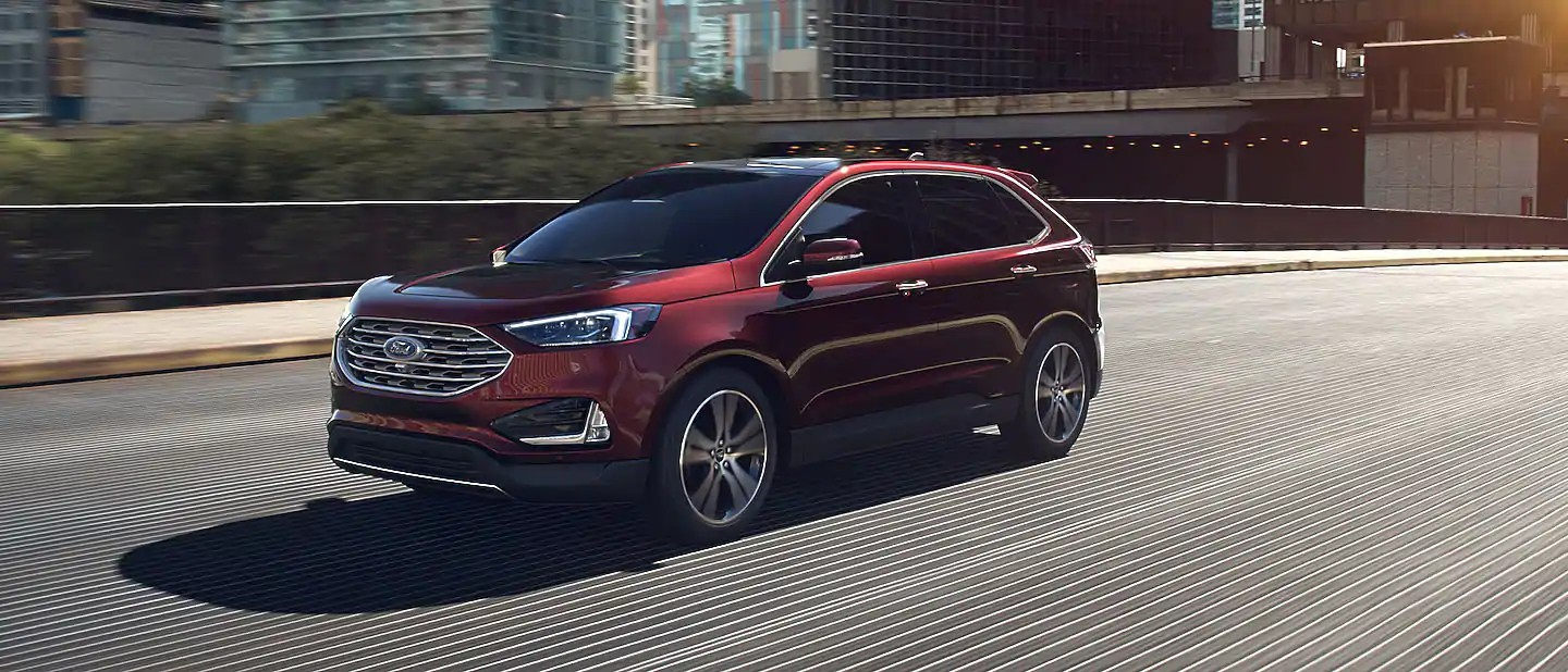 2020 Ford Edge Burgundy Velvet