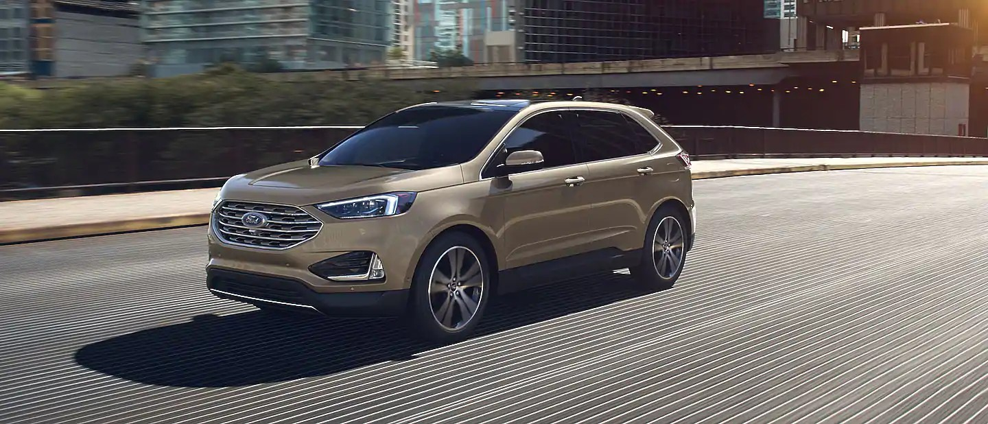 2020 Ford Edge Desert Gold