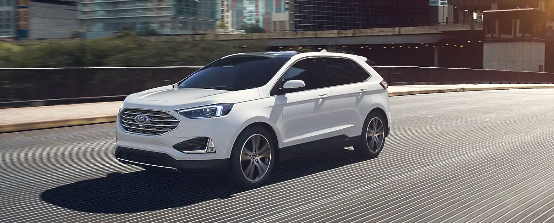 2020 Ford Edge Oxford White