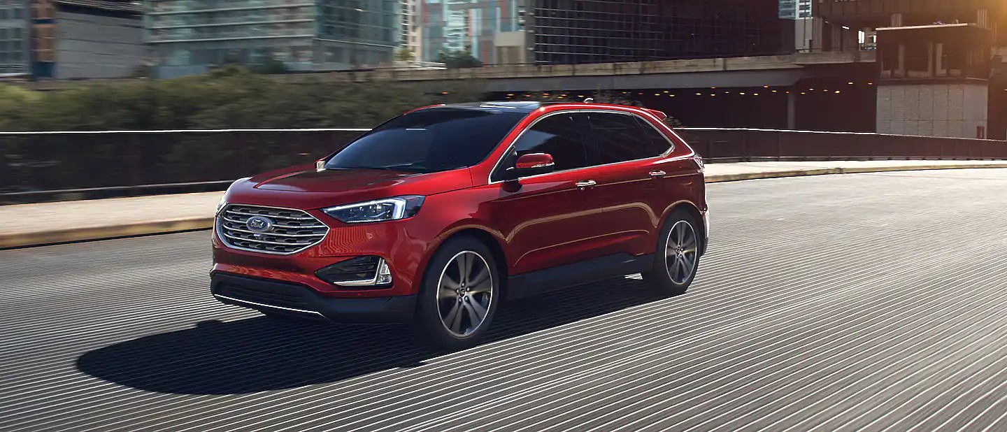 2020 Ford Edge Rapid Red