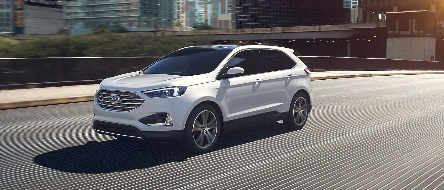 2020 Ford Edge Star White