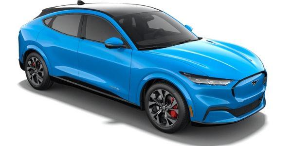 2021 Ford Mustang Mach-E grabber blue